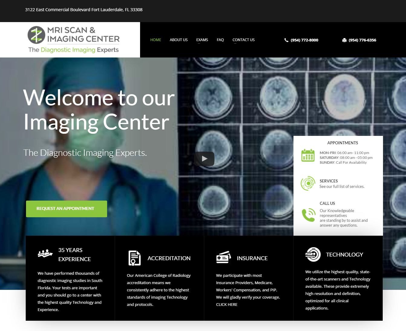 THE DIAGNOSTIC IMAGING EXPERTS